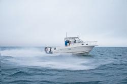 2018 - Striper Boats - 290 Walk Around OB Twin