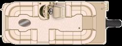 2017 - Sun Chaser Boats - Cruise 8522 Lounger