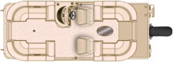 2017 - Sun Chaser Boats - Cruise 8522 Lounger DH
