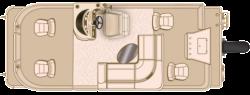 2017 - Sun Chaser Boats - 8520 4-PT