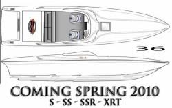 2010 - Sunsation Performance Boats - 36 XRT