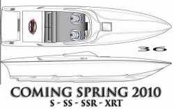 2012 - Sunsation Performance Boats - 36 SS