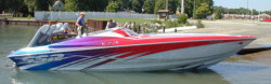 2013 - Sunsation Performance Boats - 32 SSR Mid-Cabin Open Bow