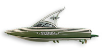 Supra Boats Sunsport 20 V Ski and Wakeboard Boat