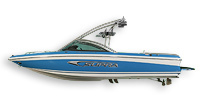 Supra Boats Sunsport 22 V Ski and Wakeboard Boat