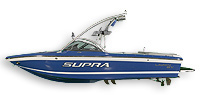 Supra Boats Launch 21 V Ski and Wakeboard Boat
