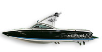 Supra Boats Lauch 24 SSV Ski and Wakeboard Boat