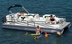 Godfrey Marine SW2586 DC Pontoon Boat