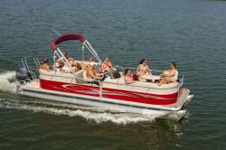 2014 - Sylvan Boats - Mirage Cruise 8524 LZ Port