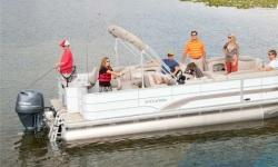 2013 - Sylvan Boats - Mirage Fish 8522 4-PT LE