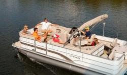 2013 - Sylvan Boats - Mirage Fish 8520 4-PT LE