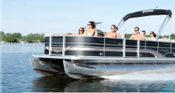 2013 - Sylvan Boats -Mirage Cruise LE 8522 LZ Port