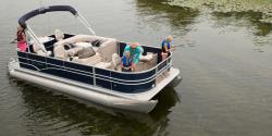 2014 - Sylvan Boats - Mirage Fish 8520 4-PT