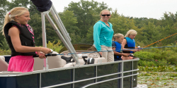 2014 - Sylvan Boats - Mirage Fish 818