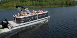 2014 - Sylvan Boats - Mirage Cruise 8524 LZ PB