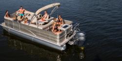 2014 - Sylvan Boats - Mirage Cruise 8522 Entertainer