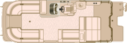 2017 Sylvan Boats S-Series S5 Flex