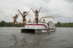 2019 - Sylvan Boats - 8520 Cruise LE