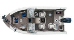 Sylvan Boats 1700 Avenger Dual Multi-Species Fishing Boat