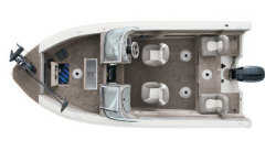 Sylvan Boats ProSport 1600DC Multi-Species Fishing Boat