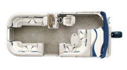Sylvan Boats 8522 Mirage Cruise RE Pontoon Boat