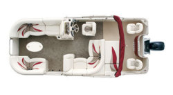 Sylvan Boats Mirage Fish 8520 F-N-C Pontoon Boat