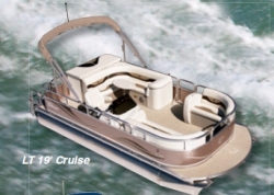 2012 - Tahoe Pontoons - 21 LT Cruise