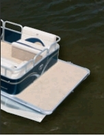 2012 - Tahoe Pontoons - 24 Rear Fish RE