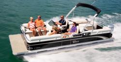 2013 - Tahoe Pontoons - 20 GT Quad Lounge