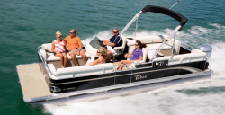 2014 - Tahoe Pontoons - 22 GT Quad Lounge