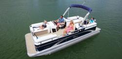 2014 - Tahoe Pontoons - 20 GT Quad Lounge