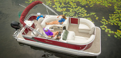 2015 - Tahoe Pontoons - 18- Sport Rear Fish