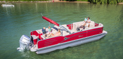 2017 - Tahoe Pontoons - 23- Cascade Rear Lounger
