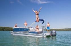 2018 - Tahoe Pontoons - LTZ Cruise 22