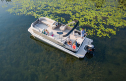 2018 - Tahoe Pontoons - LTZ Rear Fish 22