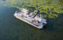 2018 - Tahoe Pontoons - LTZ Quad Fish 22