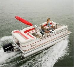Tahoe Pontoons Cascade 16 Pontoon Boat