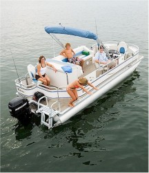 Tahoe Pontoons SE-C Fish 22 Pontoon Boat