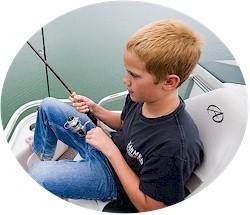 Tahoe Pontoons SE-B Fish 18 Pontoon Boat