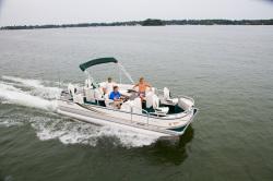 Tahoe Pontoons SE-B Fish 20 Pontoon Boat