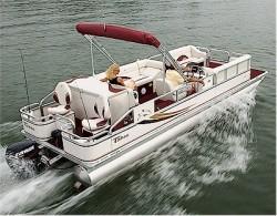 Tahoe Pontoons SE-B Fish 24 Pontoon Boat