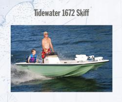 2011 - Tidewater Boats - Skiff 1672