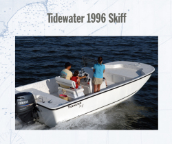 2011 - Tidewater Boats - Skiff 1996