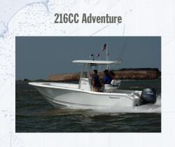 2012 - Tidewater Boats - 216CC Adventure