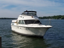 1987 - Hatteras Yachts - 40 Double Cabin