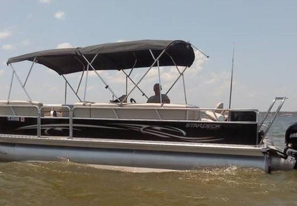 2012 Crest Pontoon Boats 20 Caribbean Cp3 Plus Tritoon