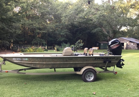 2017 - Tracker Boats - Grizzly 1754 MVX SC for Sale in