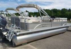 2014 - Sunchaser Pontoon Boats - 8522 Cl Cruise-N-Fish