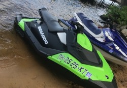 2017 - SeaDoo Boats - Spark 2up