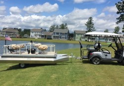 2017 - Aloha Pontoon Boats - 180 Fish N Party